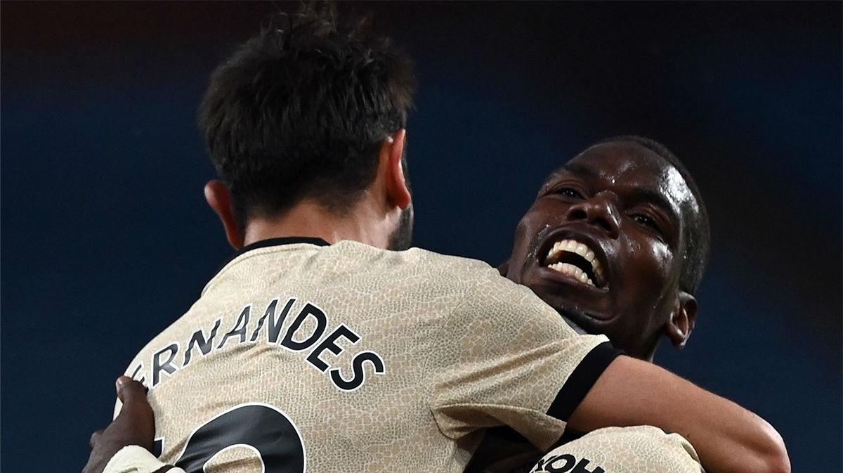 El Manchester United golea al Aston Villa