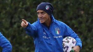 Mancini, seleccionador italiano
