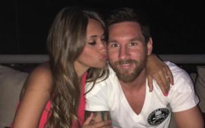 Messi y Antonella, una bella historia de amor