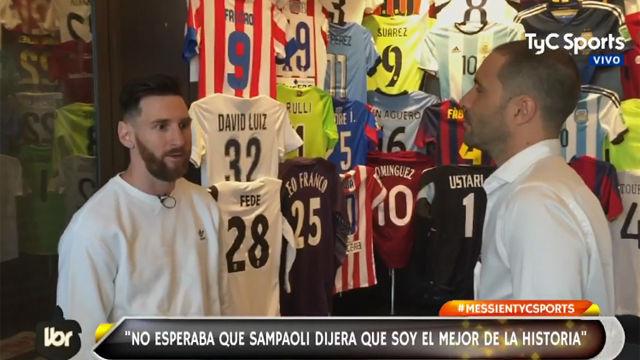 Messi: No me interesa ser el mejor de la historia