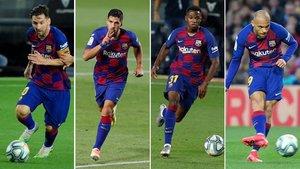 Messi, Luis Suárez, Ansu Fati y Braithwaite no pueden fallar ante Osasuna y Alavés