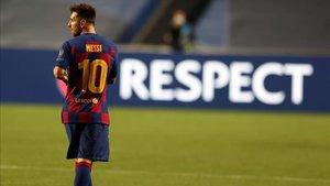 Messi pide una salida acordada del Barça