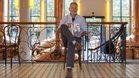 Michael Anderson, director del documental Don Patricio, en la Antiga Fàbrica Estrella Damm, donde presentó el jueves 6 de junio el largometraje dedicado al que fuera entrenador del FC Barcelona