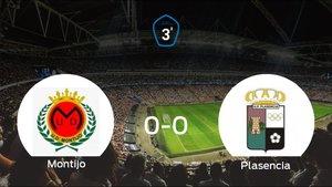 El Montijo y el Plasencia se reparten los puntos tras su empate a cero