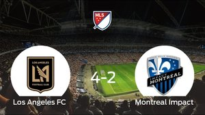 El Montreal Impact pierde 4-2 en el Banc of California Stadium ante el Los Angeles FC