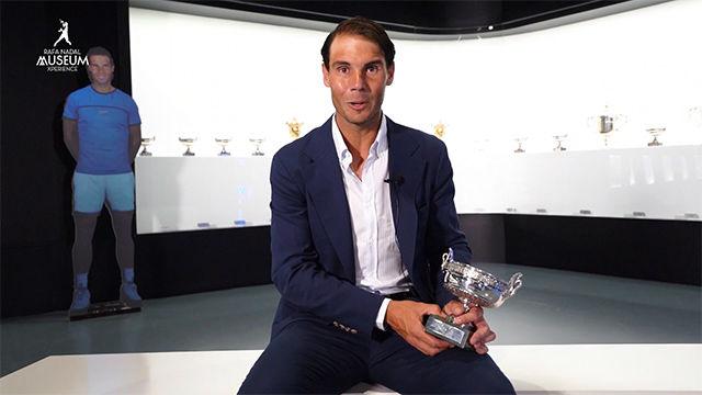 Nadal coloca el duodécimo Roland Garros en su museo