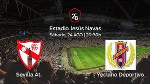 Previa del encuentro: inicia la Segunda División B para el Sevilla At. jugando ante el Yeclano Deportivo