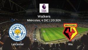 Previa del encuentro: el Leicester recibe al Watford