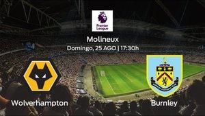 Previa del partido: el Wolverhampton Wanderers recibe en su feudo al Burnley