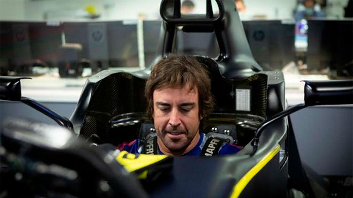 Renault hace oficial el estreno de Alonso hoy en Barcelona