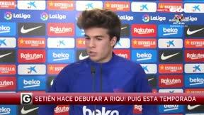 Riqui Puig: No tengo nada contra Valverde