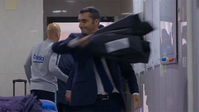 Sale a la luz el monumental cabreo de Valverde contra el Liverpool