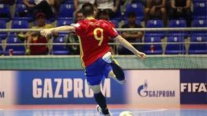 Sergio Lozano, jugador del Barcelona Lassa de fútbol sala