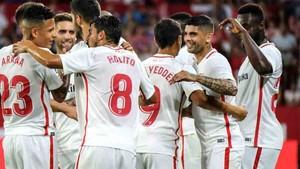 El Sevilla sigue vivo en la Europa League