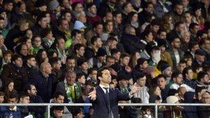 Solari se llevó los tres puntos in extremis del Benito Villamarín