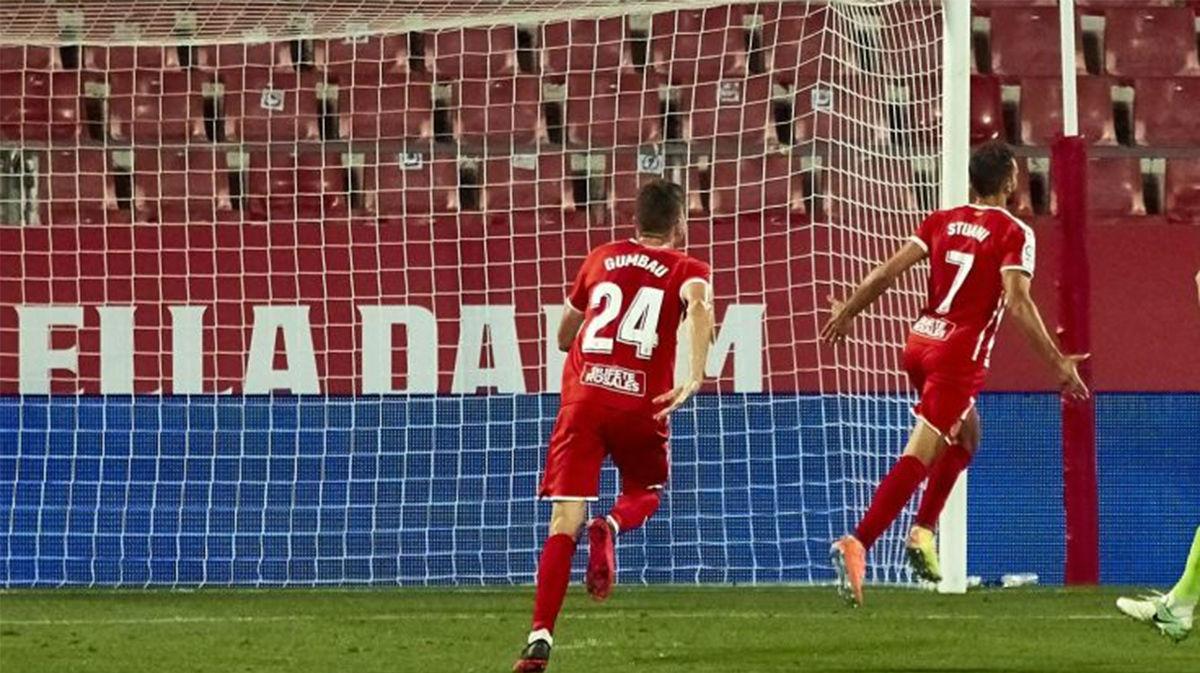 Stuani vuelve a salvar al Girona