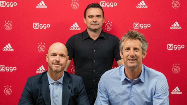 Ten Hag renueva por el Ajax hasta 2022