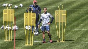 Thiago apunta a su regreso la próxima jornada
