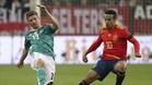 Thiago ya fue titular en el último amistoso contra Alemania