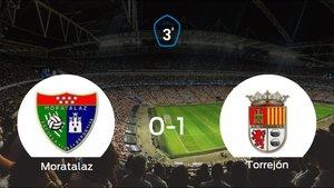 La AD Torrejón CF deja sin sumar puntos al Moratalaz (0-1)