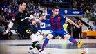 El trigoleador Cecilio fue una pesadilla para el Barça Lassa
