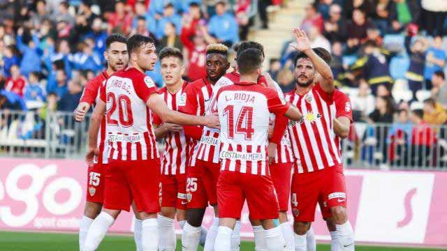 Triunfo del Almería por 1-0 frente al Numancia