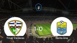 Triunfo del Trival Valderas por 1-0 ante el Santa Ana