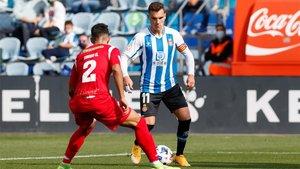 Una imagen del Espanyol B - Prat del pasado domingo