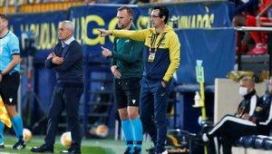Unai Emery logró una importante victoria con el Villarreal