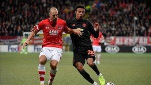 El United no pasó del empate en Holanda