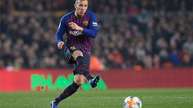 Valverde apoyó el desempeño de Arthur en su primera temporada como culé