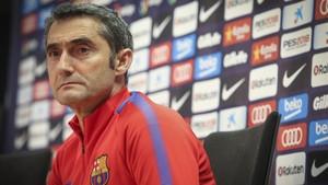 Valverde habló de la posible salida de Mascherano