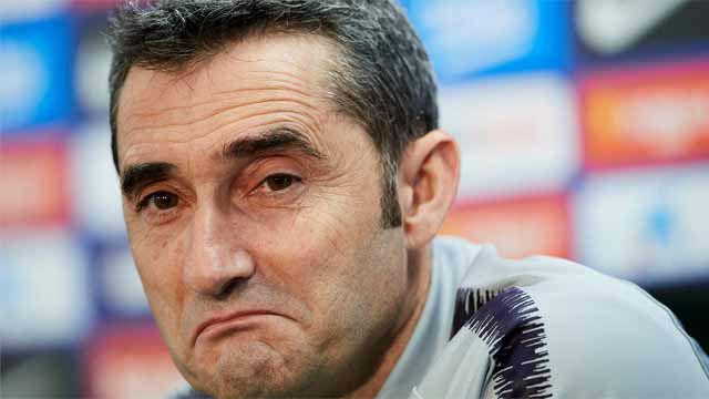 Valverde: Messi jugará si está bien