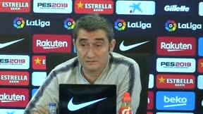 Valverde: No pienso en que Rakitic no esté la temporada que viene