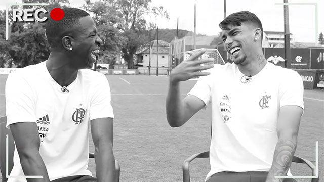 Vinicius Jr cambia el fútbol por la televisión