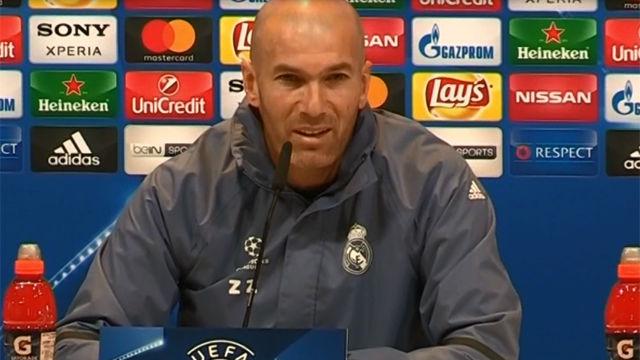 Zidane defiende a Benzema