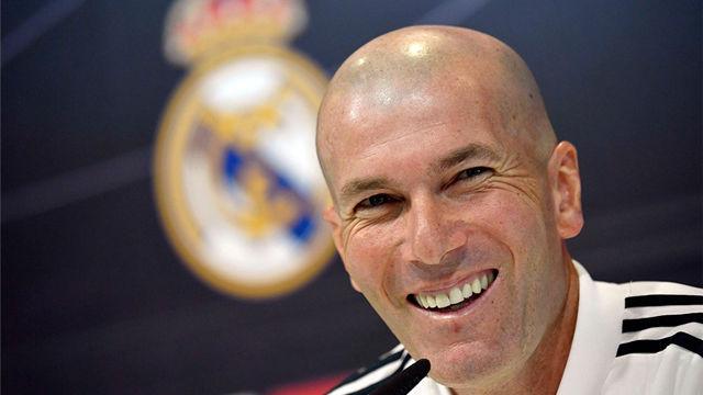 Zidane: Todos tienen contrato ahora y ya veremos qué pasa