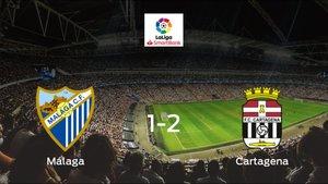1-2: El Cartagena se impone en el estadio del Málaga