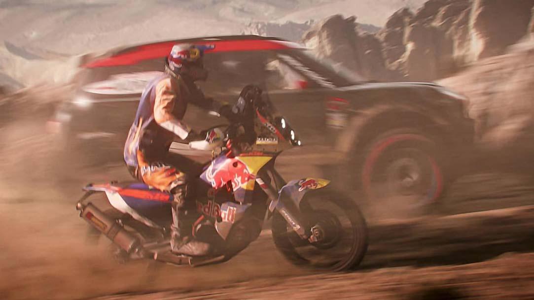 Dakar 18 trailer de lanzamiento.