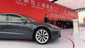 Cuando termine su planta en Shanghái, Tesla ya podrá fabircar coches en China.