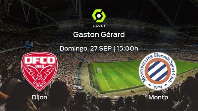 Previa del partido: el Dijon FCO recibe en su feudo al Montpellier HSC