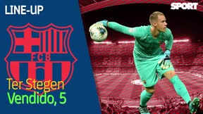 El 1x1 del Barça al descanso ante el Leganés