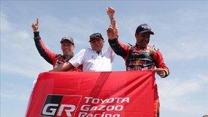 Al-Attiyah le ha dado a Toyota su primer triunfo en el Dakar