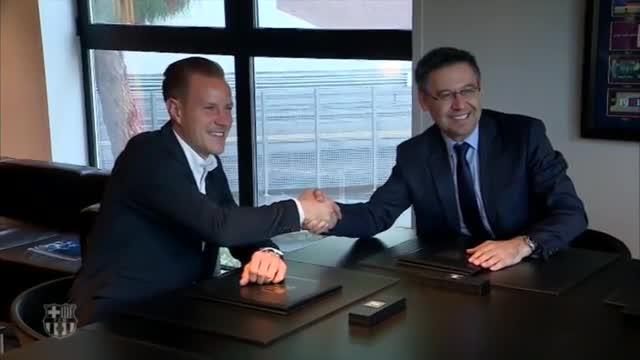 El alemán ha ampliado su vinculación con el FC Barcelona