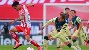 América y Necaxa igualaron a uno en una nueva fecha del torneo Guardianes MX