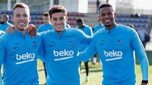 Arthur, Coutinho y Semedo están ya disponibles
