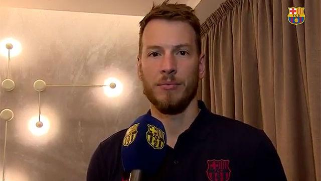 Así ha sido la primera entrevista de Neto como jugador del FC Barcelona