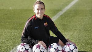 Bárbara Latorre marcó cuatro goles contra el Madrid CFF la pasada jornada