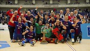 El Barça se proclamó campeón de la Liga Europea en Oporto
