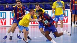 El Barça vuelve a Europa tras ganar al Celje en el Palau